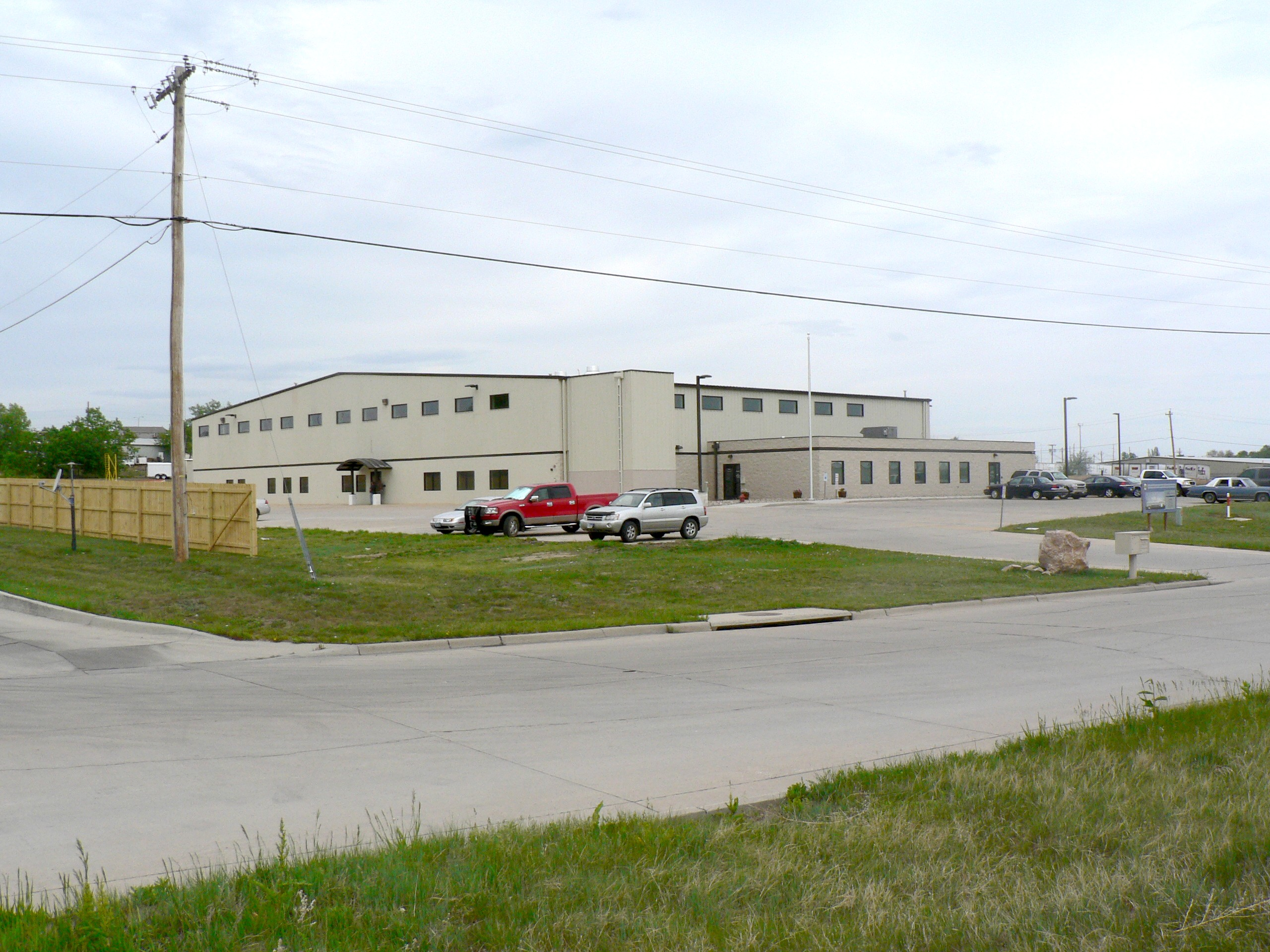 The exterior view of the Black Hills Correctional Transition Center.